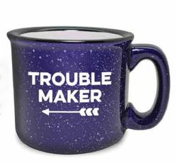 Trouble Maker Ceramic Trouble Maker Coffee Mug