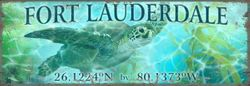 Turtle #2 Beach Wall Art - Personalize *NEW