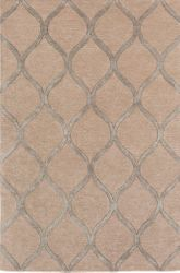 Urban Tan Hand Tufted Rug <font color=a8bb35> NEW</font>