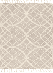 Vera Light Gray Hand Tufted Rug   <font color=a8bb35> NEW</font>