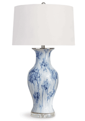 Veranda Ceramic Table Lamp <font color=a8bb35> NEW</font>