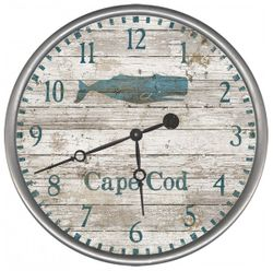 Vintage Whale Clock  - Personalize It