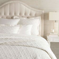 Washed Linen Ivory Quilt
