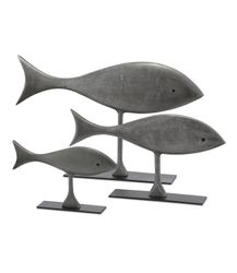 Welsey Fish Decor - Three Sizes<font color=a8bb35> NEW</font>