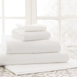 Signature White Bath Towels<font color=cf2317> 20% Off</font>