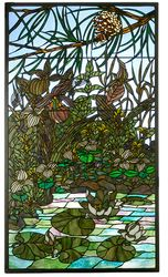 Woodland Lilypond Windowlight