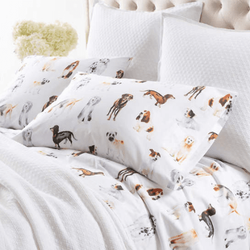 Woof Sheet Set <font color=a8bb35>NEW</font>