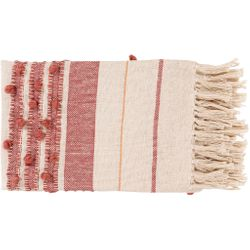 Yemaya Red Throw