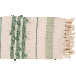 Yemaya Green Throw