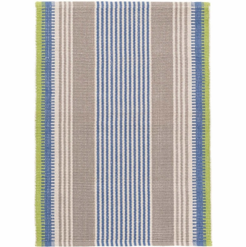 York Stripe Cotton Woven Rug *Sold out