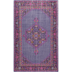 Zahra Purple Hand Knotted Rug