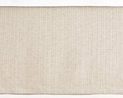 "Zen 18"" Tailored Bedskirt in Natural or Ivory"