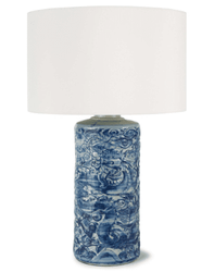Zodiac Ceramic Table Lamp <font color=a8bb35> NEW</font>