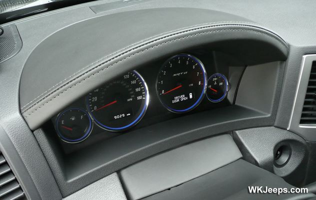 Mopar Leather Wrapped Cluster Bezel for 2008-2010 Grand Cherokee WK