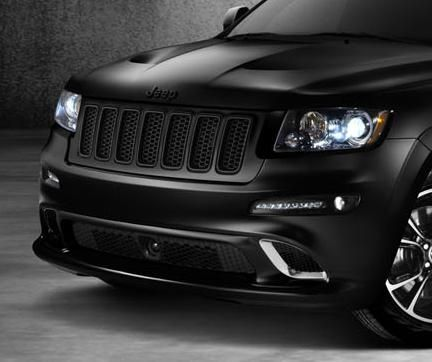 2011-2013 Brilliant Black Vapor & Alpine SRT8 Grand Cherokee Grill