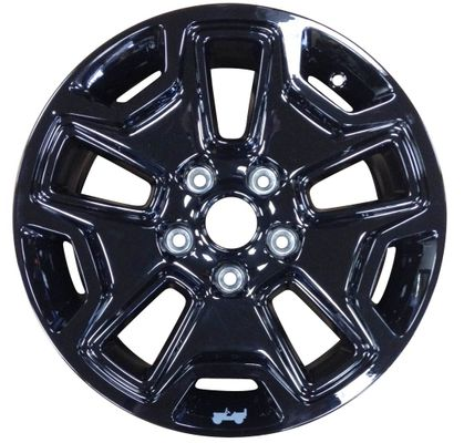 "17"" High Gloss Black Willys Wheeler Wheel"
