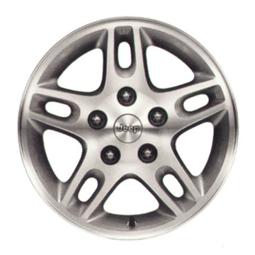 1999-2004 Grand Cherokee Silverblade #1 Wheel
