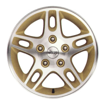 Mopar Silverblade #2 Wheel for 1999-2004 Grand Cherokee WJ