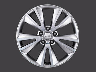 "Mopar 20"" Productions Bright Chrome Wheel for 2011-2020 Grand Cherokee WK2"