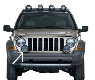 Mopar Renegade Fog Lamp for 2005-2007 Liberty KJ