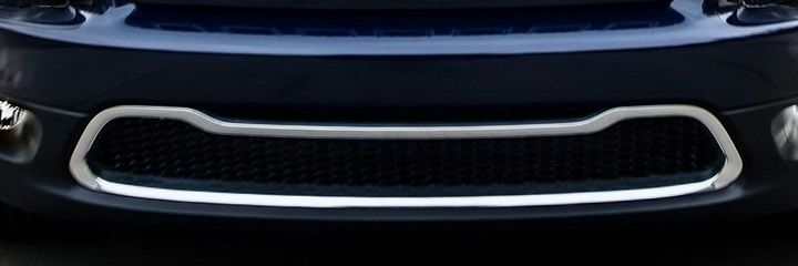 Chrome Front Bumper Accent Cherokee 2014-2018