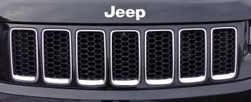 2014-2016 Overland & SRT8 Black Honeycomb Grill Inserts
