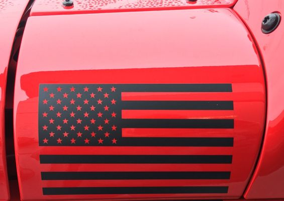 Freedom Edition Wrangler Flag Decal