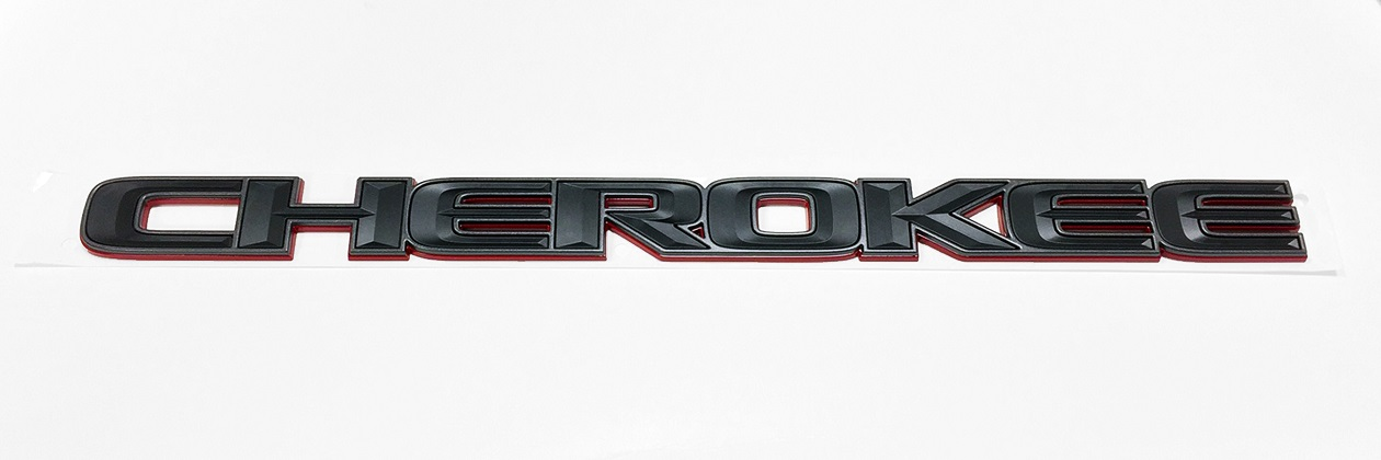 "WK2 Trailhawk Grand Cherokee ""CHEROKEE"" Badge"