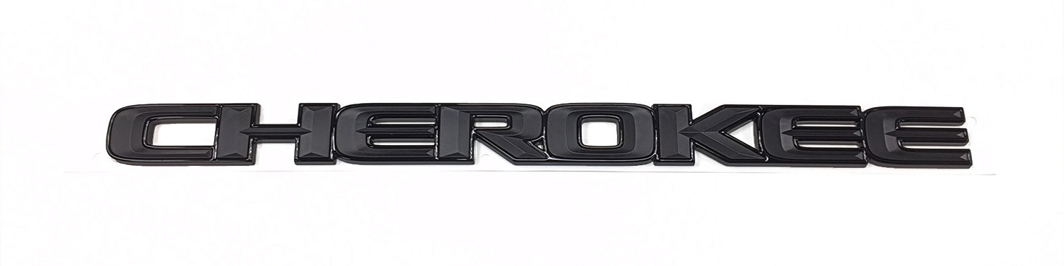 """CHEROKEE"" Badge Altitude Grand Cherokee"