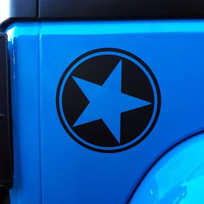 Freedom Edition Quarter Panel Star Decal