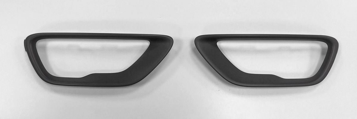 2017-2020 WK2 Paintable Fog Lamp Bezels