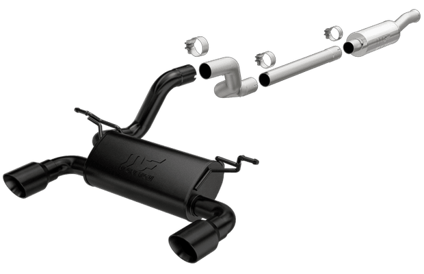 Magnaflow Performance Series Dual Exit Cat-Back Exhaust for Wrangler JL with 2.0 4 Cylinder Turbo Engine