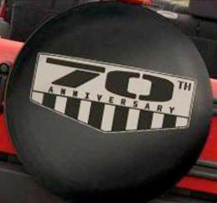 70th Anniversary Tire Cover