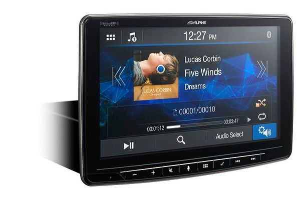 "Alpine ILX-F259 Halo9"" Mech-less Audio/Video Receiver w/ Apple Carplay and Android Auto"