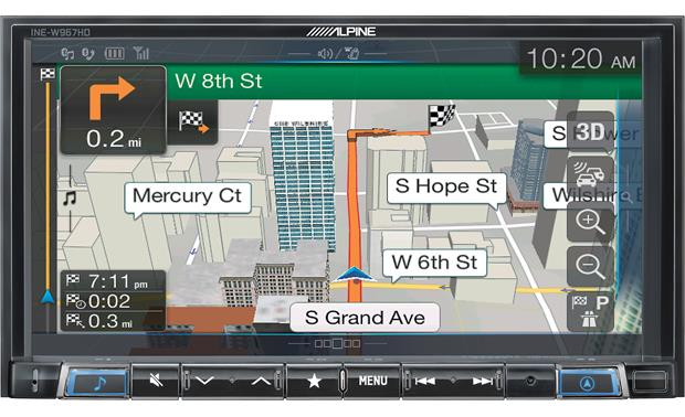 "Alpine INE-W967HD 7"" Audio/Video/Navigation Receiver"