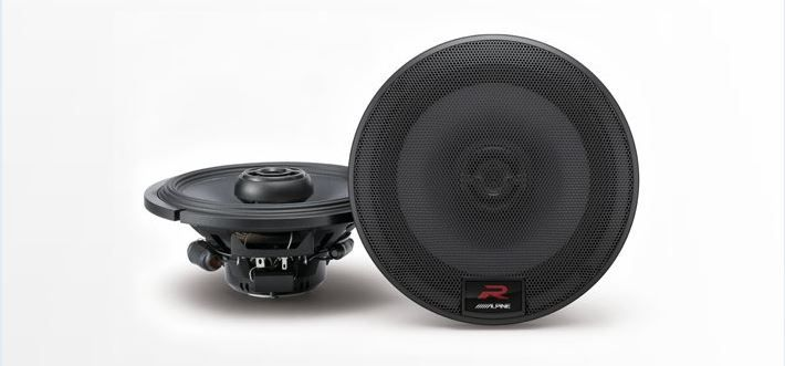 "Alpine Type-R 6-1/2"" Coaxial 2-Way Speakers (R-S65)"