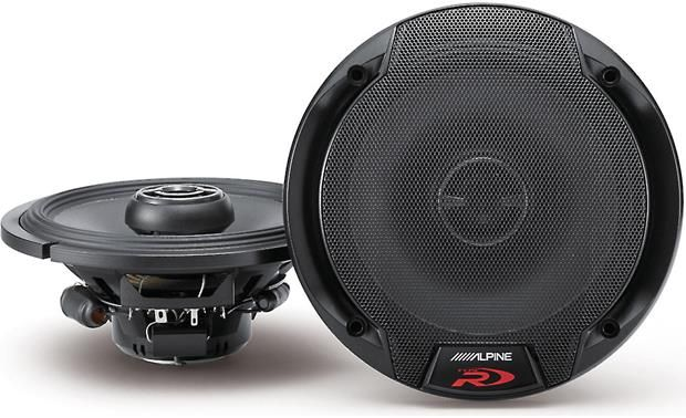 "Alpine SPR-60 Type-R 6-1/2"" to 6-3/4"" 2-way car speakers"