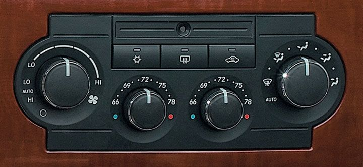 Mopar Automatic Temp Control Unit for 2005-2007 Grand Cherokee WK and 2006 Commander XK