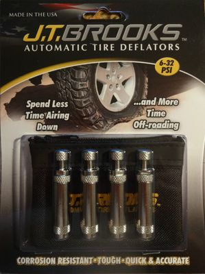 Automatic Tire Deflators - Set of 4