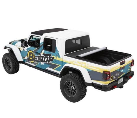 Bestop EZ-Roll Soft Roll-Up Tonneau Cover for 2020 Gladiator JT