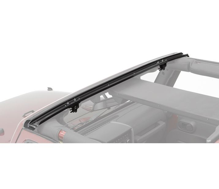 Bestop No-Drill Header Windshield Channel for Wrangler JK
