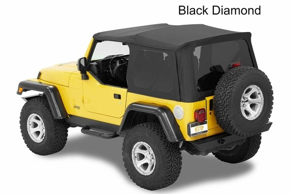Bestop Supertop NX with Tinted Windows for Wrangler TJ