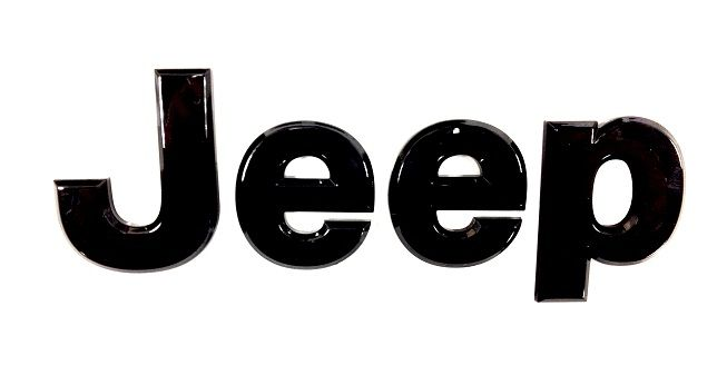 Black Jeep Badge for the Patriot & Compass