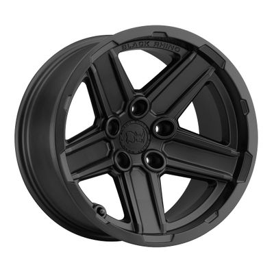 Black Rhino Recon Matte Black Wheel for 2007-2020 Wrangler JK/JL and 2020 Gladiator JT