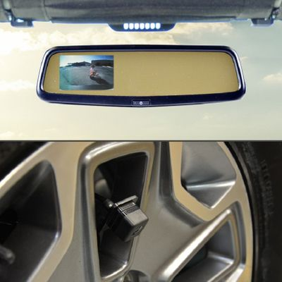 Brand Motion Rear Vision System with Mirror Display for Wrangler JK
