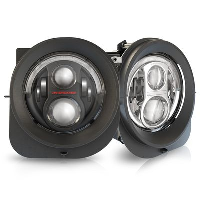 JW Speaker LED Headlights Model 8700 Evolution 2R for 2015-2018 Renegade BU