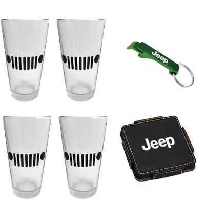 Cheers to Jeep Gift Set