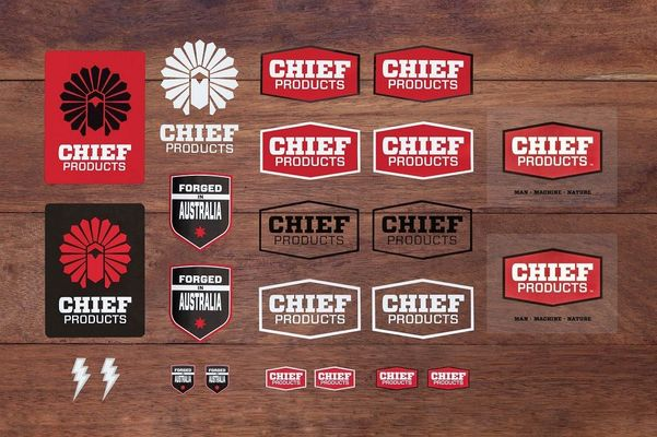Chief Products Sticker Pack