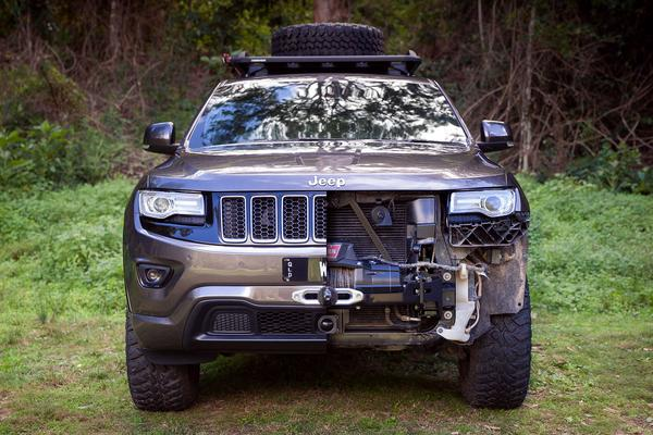 chief products wk2 grand cherokee hidden winch mount. Black Bedroom Furniture Sets. Home Design Ideas