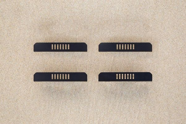 Chief Products Roof Rack Slotted Plank End Cap Kit (Set of 4) for 2011-2020 Grand Cherokee WK2